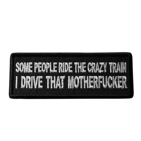 Some People Ride The Crazy Train I Drive That Mother | Etsy