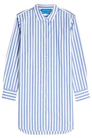 Oversized Striped Shirt Gr. S