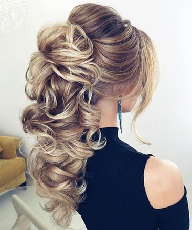 Long Blonde Curly Prom Hair – Blonde Hairstyles 2017