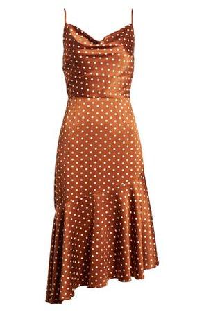 J.O.A. Cowl Neck Midi Dress   Nordstrom