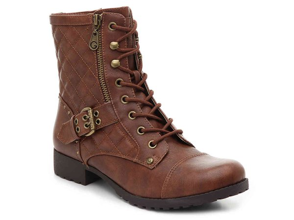 G by GUESS Balmy Combat Boot Women's Shoes | DSW