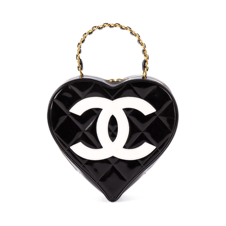 Chanel - Vintage quilted heart purse - Semaine
