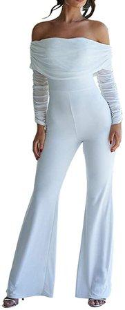 White Romper Jumpsuits