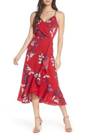 chelsea faux wrap dress | Nordstrom