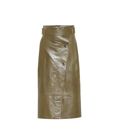 Leather Wrap Skirt - Zeynep Arçay | Mytheresa