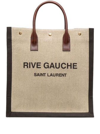 Saint Laurent Noé Rive Gauche Tote Bag - Farfetch