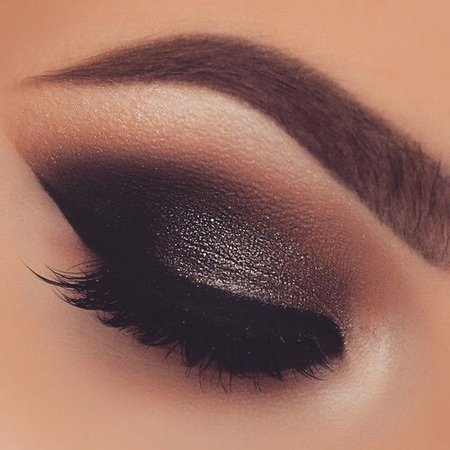 Smokey Black Eyeshadow