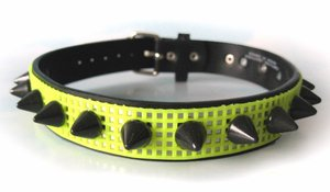 neon yellow choker