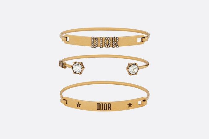 Set of Dio(r)evolution bracelets - Fashion Jewellery & Jewellery - Woman | DIOR