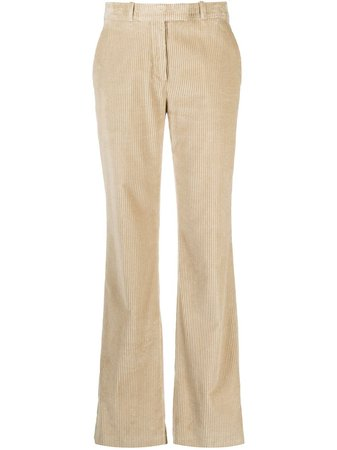 ShopEtro corduroy straight-leg trousers with Express Delivery - Farfetch