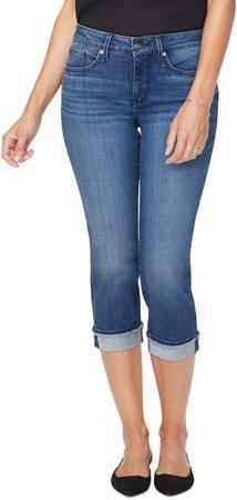 Marilyn Fray Cuff Crop Skinny Jeans