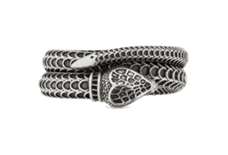 Sterling Silver Gucci Garden Snake Ring   GUCCI® US