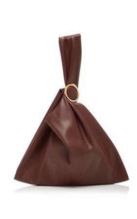 Julia Vegan Leather Top Handle Bag By Nanushka | Moda Operandi