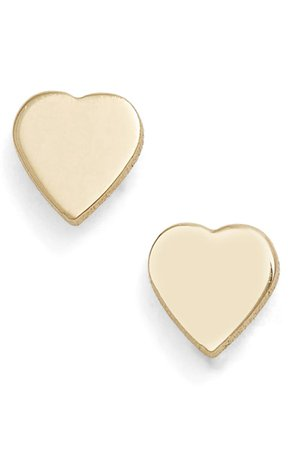 Mini Sweetheart Stud Earrings POPPY FINCH