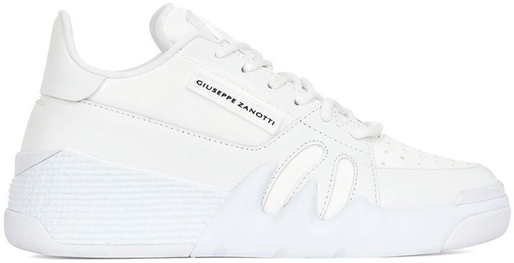 Low-Top Chunky Sole Trainers
