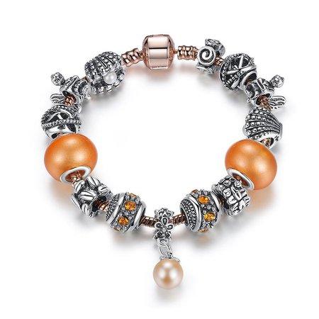 Orange Pandora Bracelet