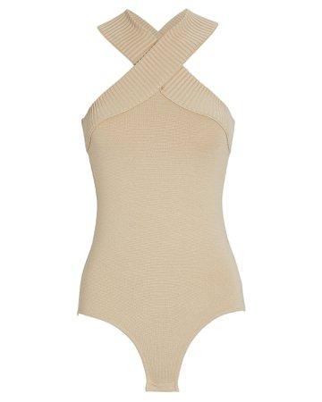 Zeynep Arcay Sleeveless Knit Bodysuit   INTERMIX®