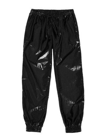 SUNSET JOGGER PANTS black : FM91.02