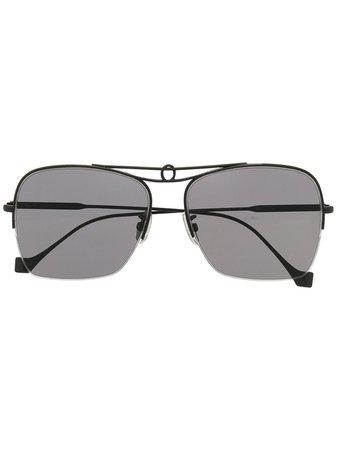 LOEWE Knot aviator-frame sunglasses - FARFETCH