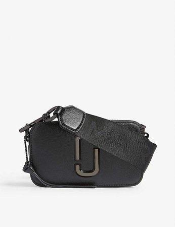 MARC JACOBS - Snapshot leather cross-body bag   Selfridges.com