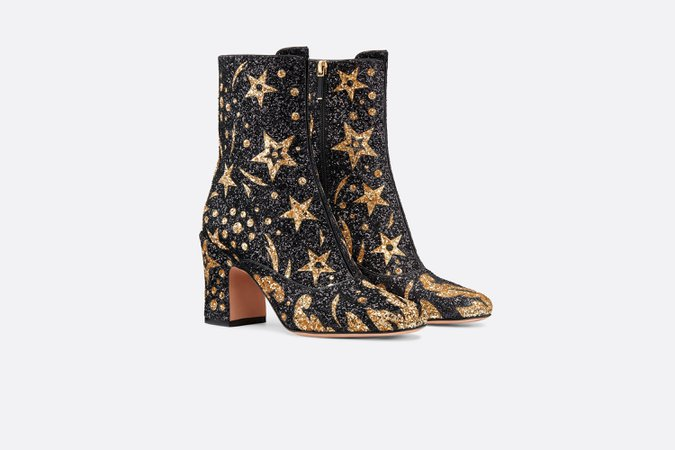D-Circus low boot in glitter - Shoes - Women's Fashion | DIOR
