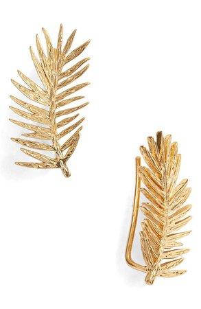 gorjana Palm Ear Crawler Earrings | Nordstrom
