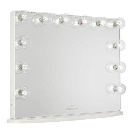 Hollywood Glow® Plus 2.0 Vanity Mirror • Impressions Vanity Co.