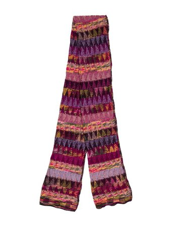 Missoni Crochet Knit Scarf - Accessories - MIS58966 | The RealReal