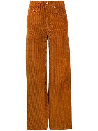Levi's Flared Corduroy Trousers   Farfetch.com