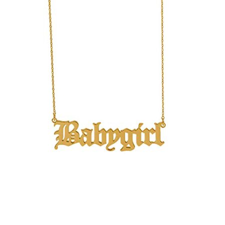 gold baddie necklace