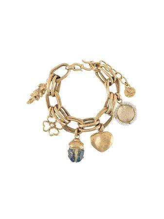 Goossens, Beaded Chain Bracelet