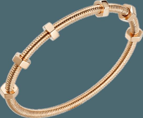 CRB6049517 - Ecrou de Cartier bracelet - Pink gold - Cartier