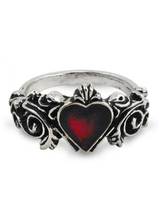 Alchemy Heart Ring
