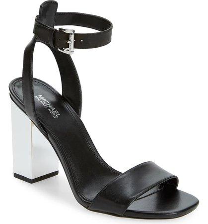 MICHAEL Michael Kors Petra Block Heel Sandal (Women)   Nordstrom