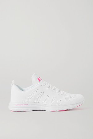 Techloom Pro Mesh Sneakers - White
