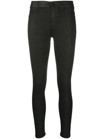 Black Dondup high-rise skinny jeans - Farfetch