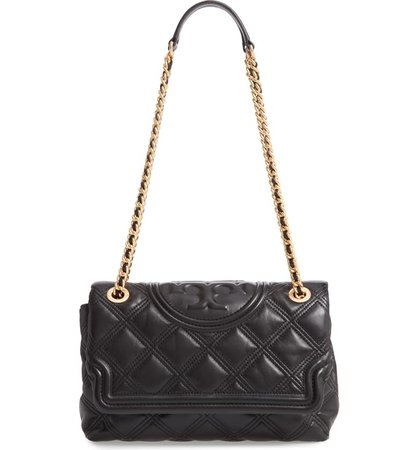 Tory Burch Fleming Soft Quilted Lambskin Leather Shoulder Bag | Nordstrom