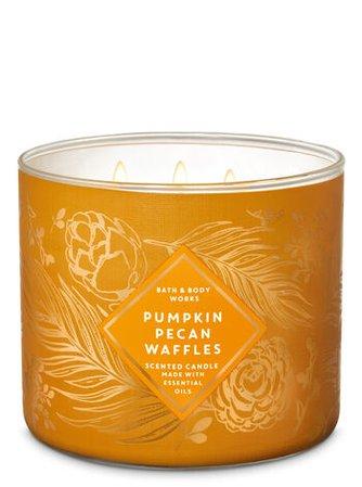 Pumpkin Pecan Waffles 3-Wick Candle | Bath & Body Works