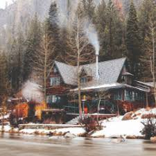 winter cabin fashion tumblr - Google Search