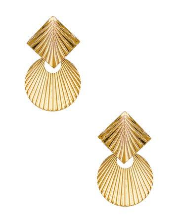 Jennifer Behr Giovanna Earrings in Gold