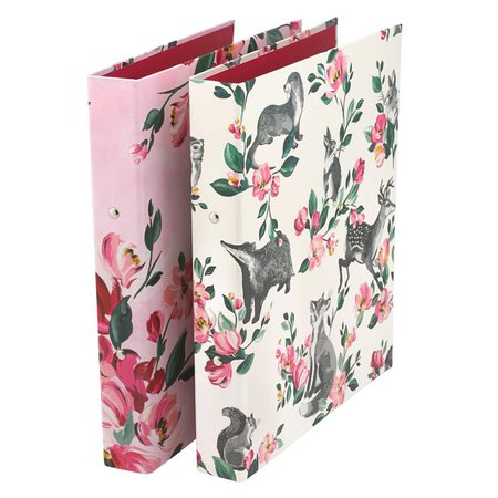 Mini Badgers And Friends Set Of Two Ring Binders | BACK TO SCHOOL | CathKidston