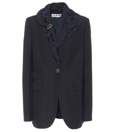 Loewe, Embellished Wool Blazer