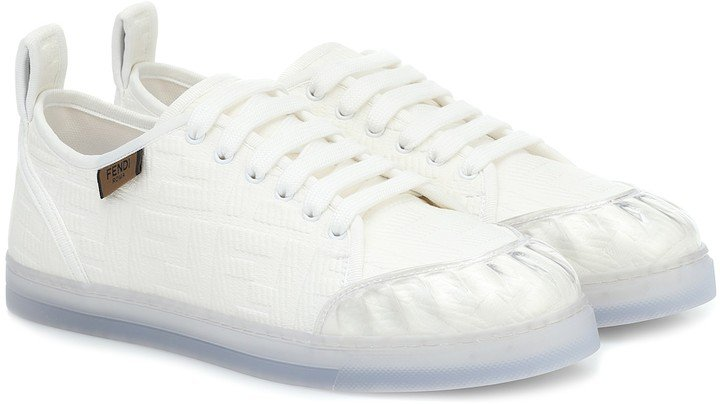 Promenade FF canvas sneakers