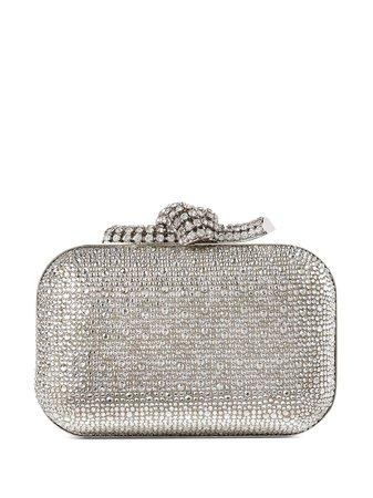 Jimmy Choo Cloud crystal embellished clutch