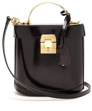 Benchley Leather Shoulder Bag - Womens - Black
