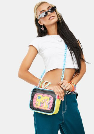 Loungefly MTV Crossbody Bag | Dolls Kill