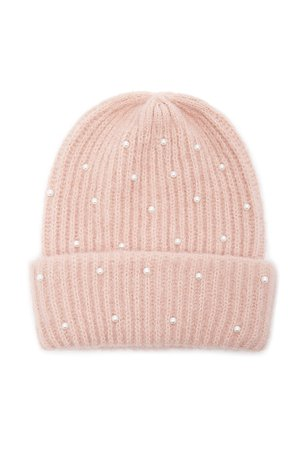Embellished Ribbed Beanie | Forever 21