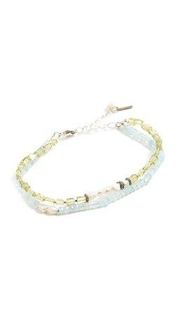 Chan Luu Aquamarine Santi Bracelet | SHOPBOP
