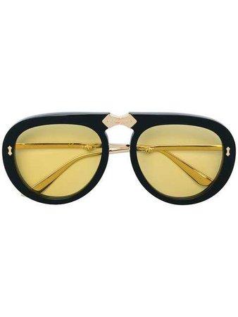 Gucci Eyewear Round Sunglasses - Farfetch