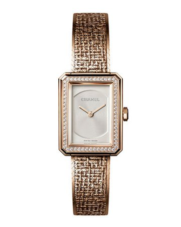 CHANEL TWEED WATCH